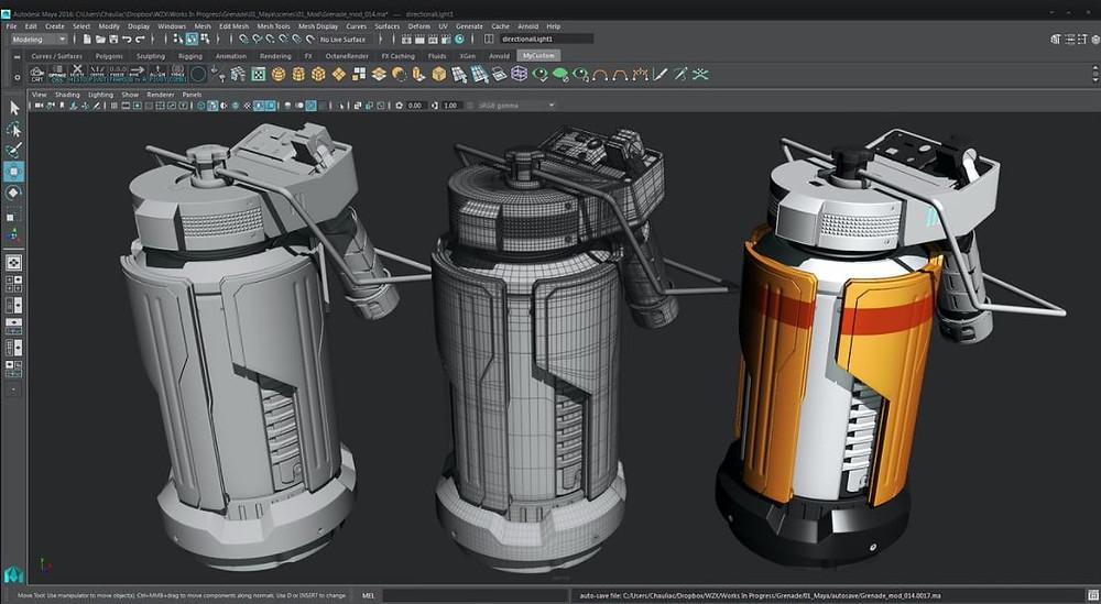 Autodesk Maya Sample