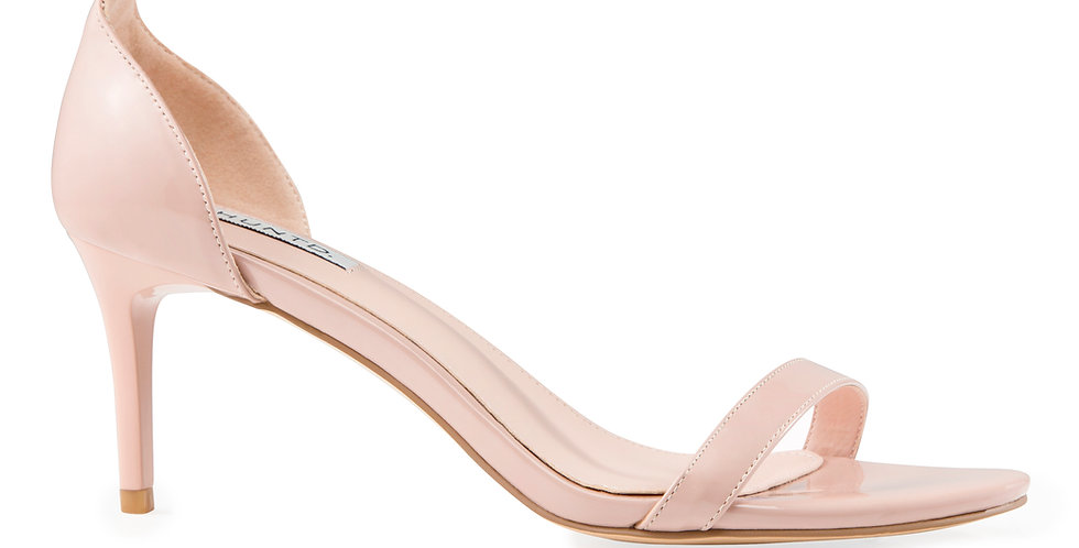 Comfort Sandal (Patent Nude)