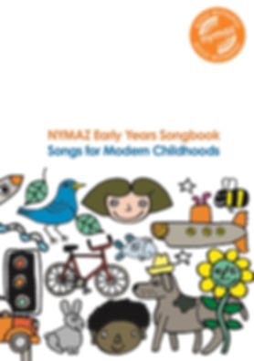 Front Cover of NYMAZ EY Songbook