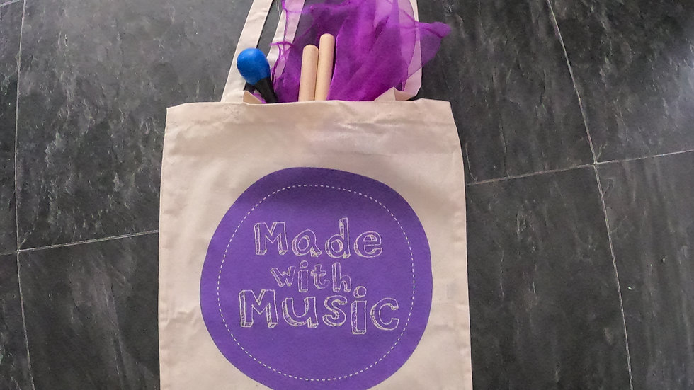 Tote bag and instrument bundle