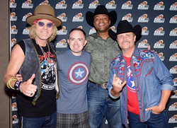 Partied with Big & Rich and Cowboy Troy tonight!