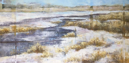 March Thaw, Coulter Bay, Keyhole Reservo