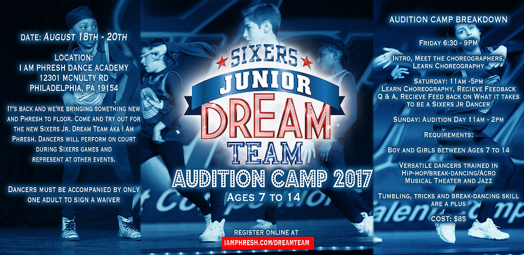 Sixers Jr Dance Team Auditions