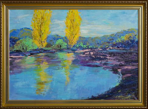 Questo quadro è disponibile per la vendita.  Per ulteriori informazioni sul prezzo contattate direttamente l'artista al profilo social presente sulla pagina.