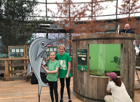 Shreveport Aquarium and Caddo Lake Institute Celebrate National Paddlefish Day, March 7