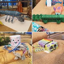 recycled art winners.JPG
