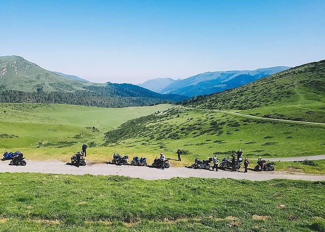 Pyrenaen motorradtour motorradreise moto