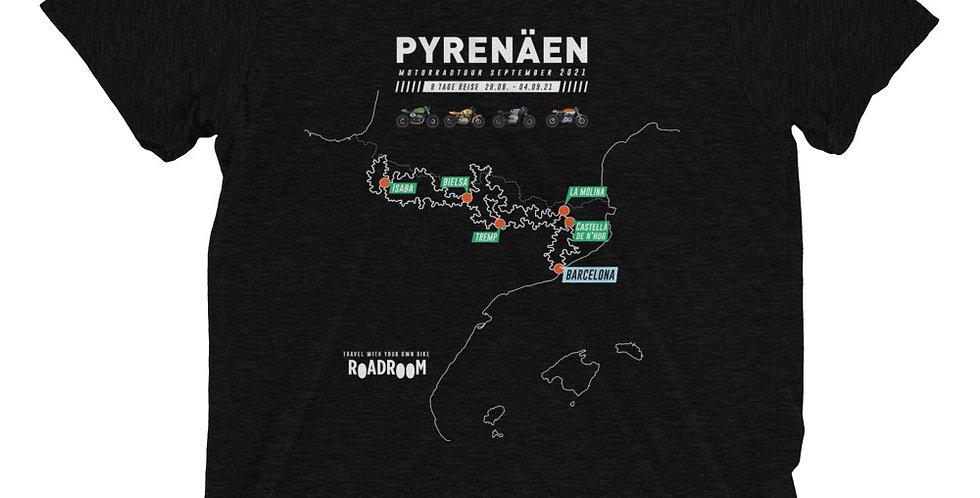 Short sleeve t-shirt // Pyrenäen Motorradtour August-September 2021