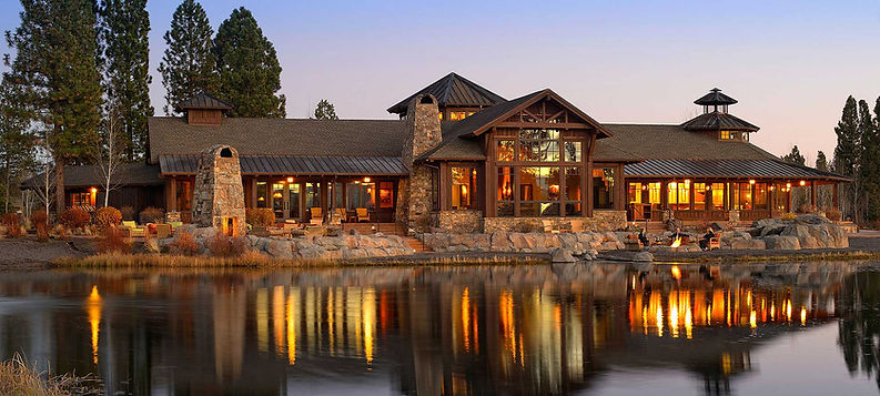 lakeside home