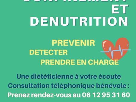 Confinement et dénutrition