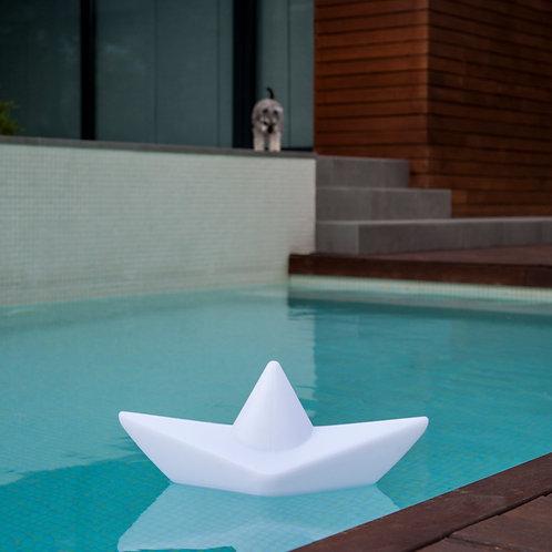 Lámpara de exterior barco de papel