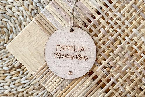 Bola de navidad- Familia