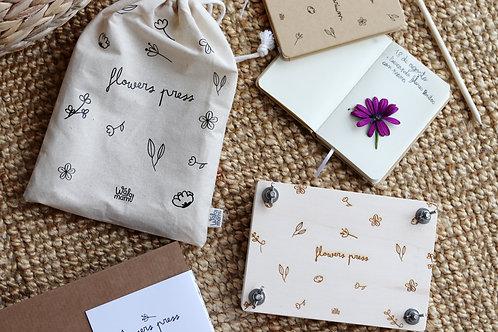 Kit prensador de flores