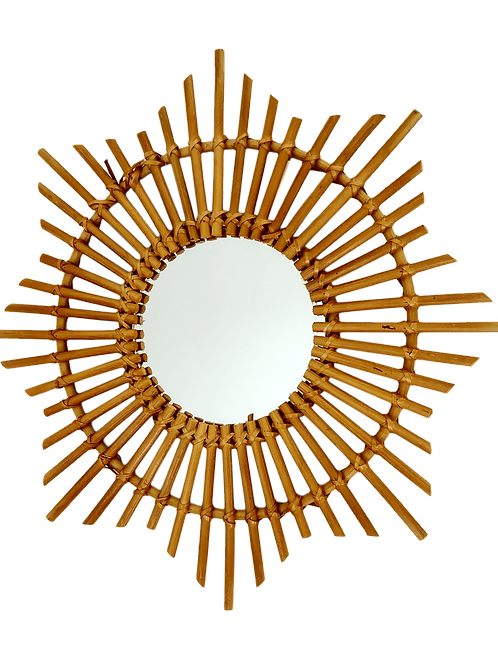 Espejo bambú estrella