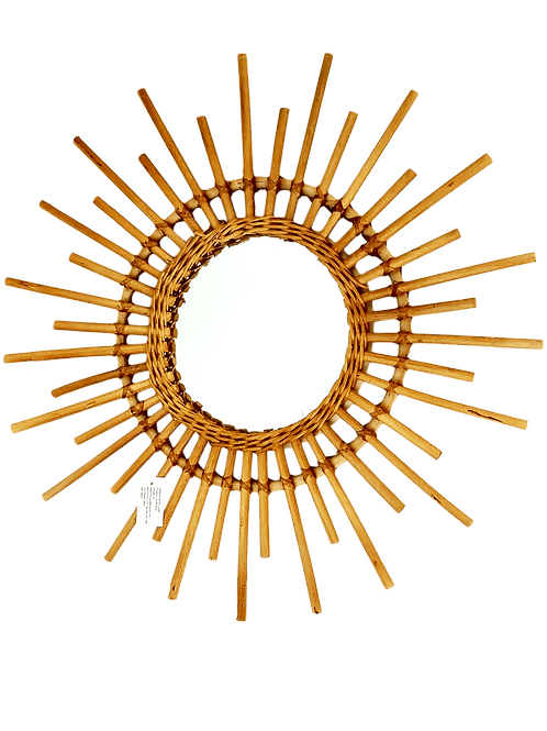 Espejo bambú Sol