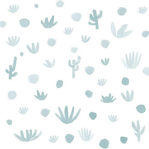 Papel Cactus azul
