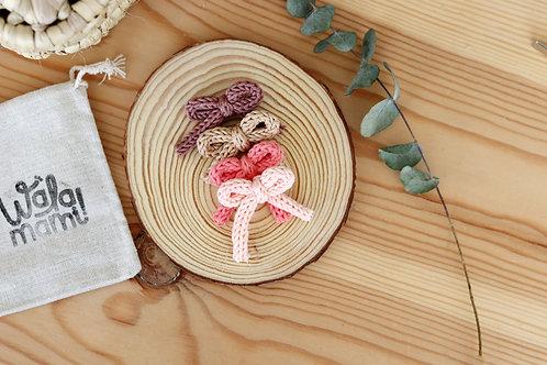 Lazo tejido a crochet