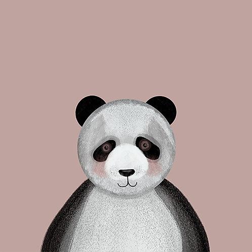 PANDA bloque de madera