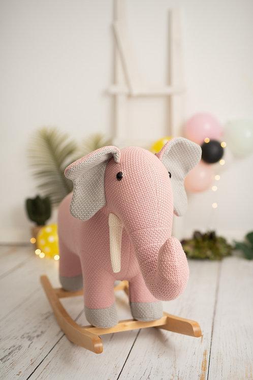 Elefante balancín maxi