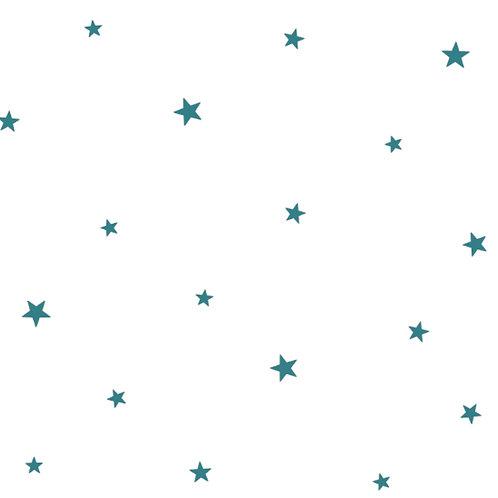 Papel Estrellas azul