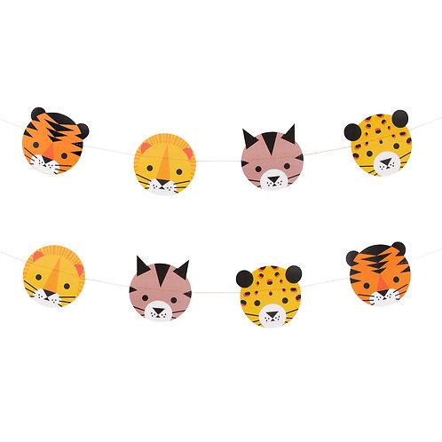 Guirnalda felinos
