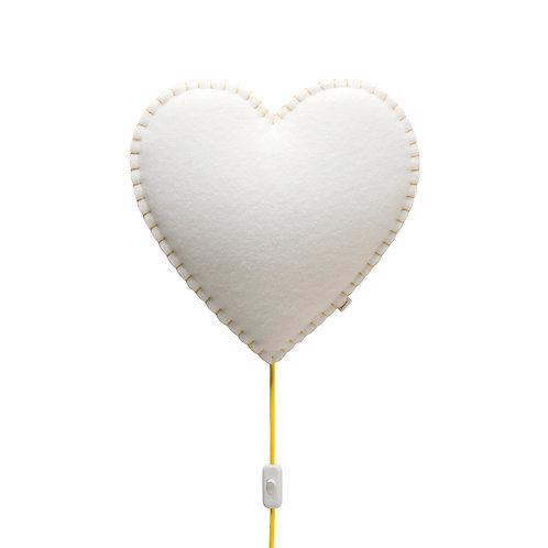 Lámpara de pared Corazón - MÁS COLORES