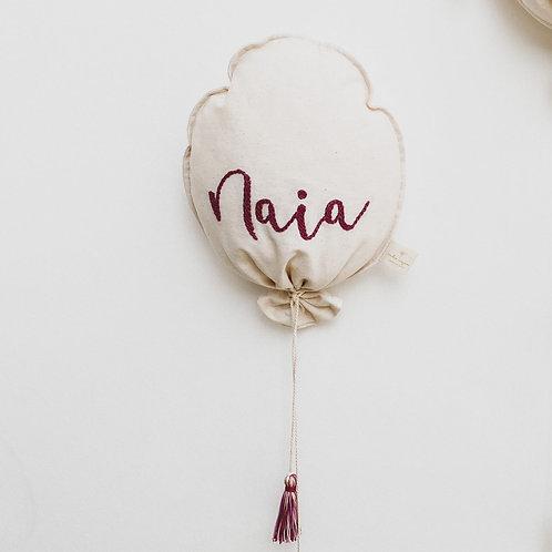Balloon simple: texto corto