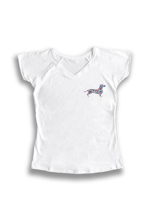 Camiseta mujer teckel