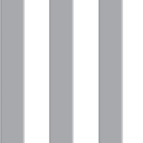 Papel Rayas 3D gris