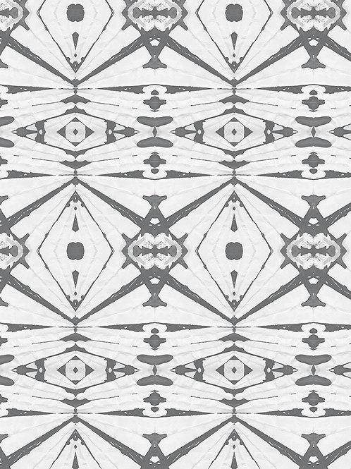 Papel pared Kaleidoscope Plomo