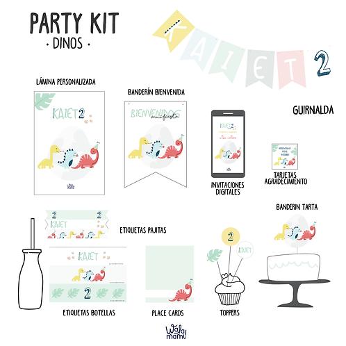 Party kit Dinos