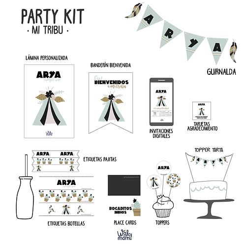 Party kit mi tribu