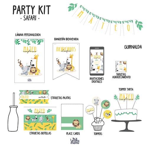 Party kit safari