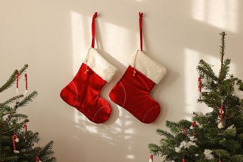 Bota clásica Papá Noel