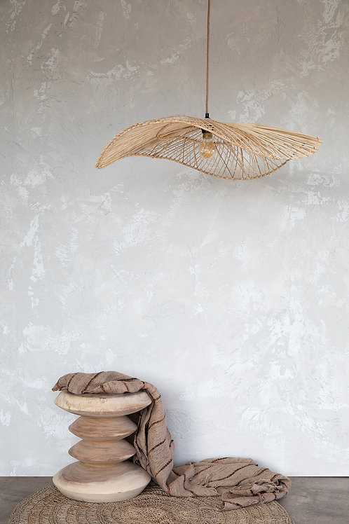 Lámpara ratán Chapeau - más colores