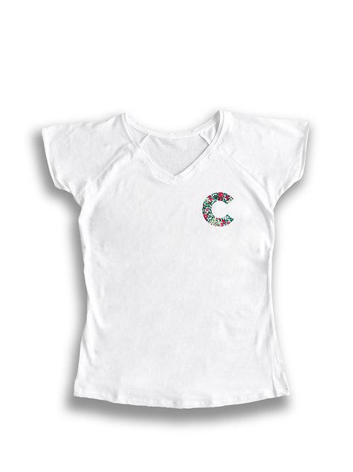 Camiseta mujer letra personalizada