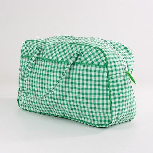 Bolsa deportiva Vichy verde