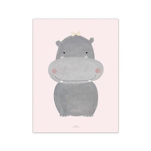 Lámina hipopótama - Más colores