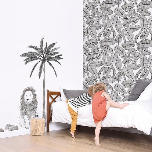 Papel pintado Follaje tropical