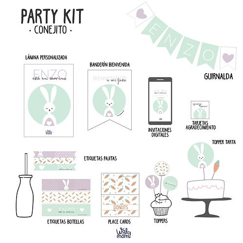 Party kit conejito