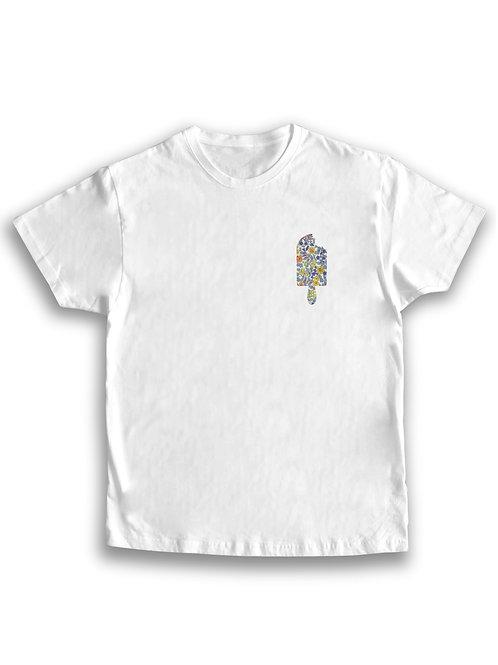 Camiseta hombre helado