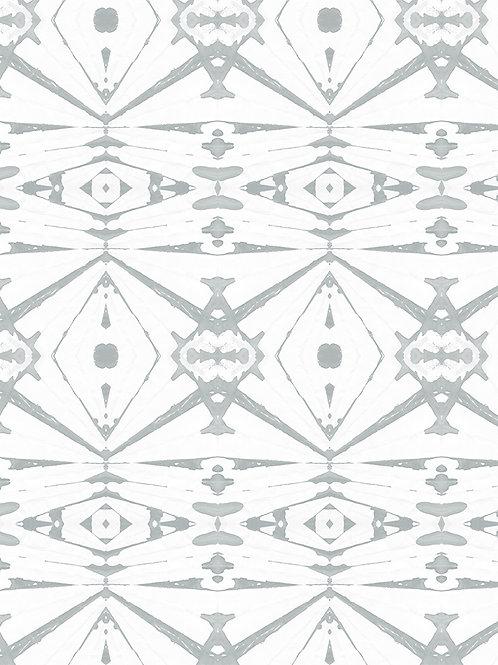 Papel pared Kaleidoscope Gris