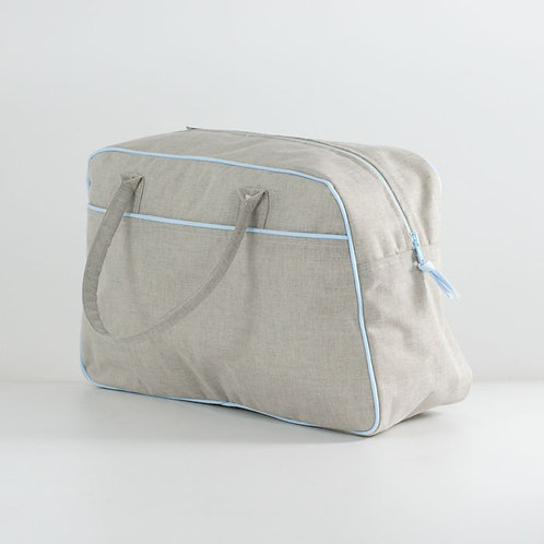 Bolsa deportiva Lino azul