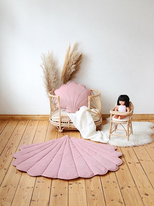 Alfombra / Playmat Concha Soft Pink