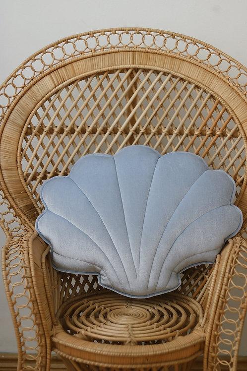 Cojín Concha Blue pearl