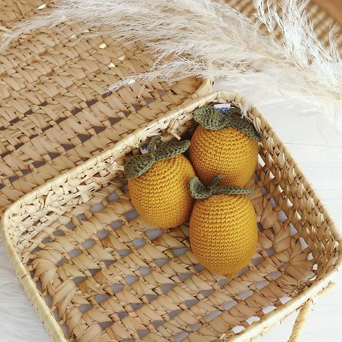 Sonajero limón