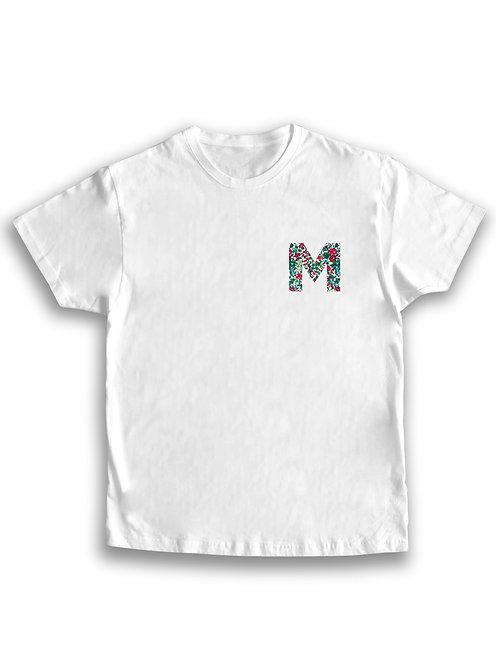 Camiseta hombre letra personalizada