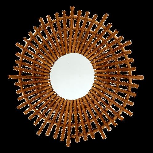 Espejo bambú espiral