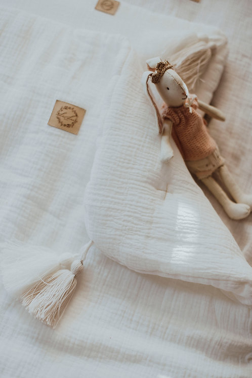 Juego de cama minicuna White