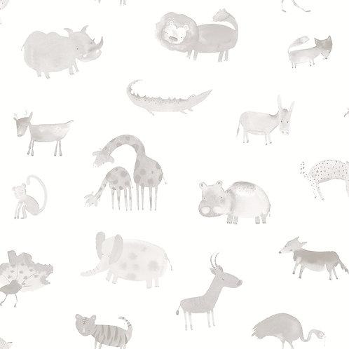 Papel pintado Safari topo